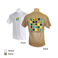 Geocaching 10 Year Anniversary T-Shirt - Sand - Small