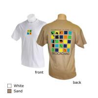Geocaching 10 Year Anniversary T-Shirt - Sand - Small