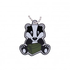 Geocaching Badger Cachekinz Travel Tag