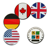 Country micro geocoins - United Kingdom