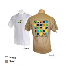 Geocaching 10 Year Anniversary T-Shirt - White - Small