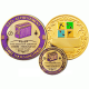 3000 Finds Geo-Achievement set Geocoin