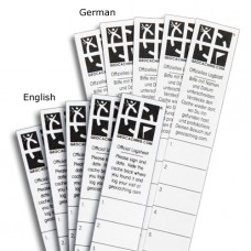 Micro Log Strips - Set of 5 English