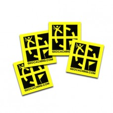 3/4 x 3/4 Mini Sticker 4 Pack