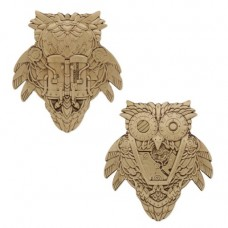 Steampunk Owl Geocoin Trackable